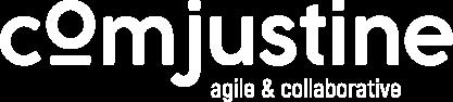 Logo Com'Justine blanc